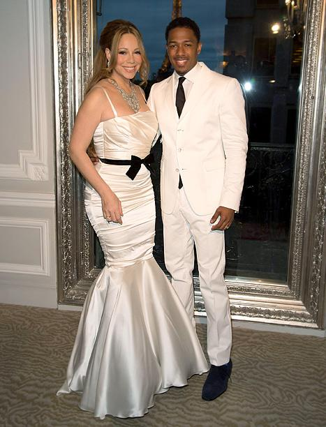 Mariah Carey, Nick Cannon Renew Wedding Vows in Paris!