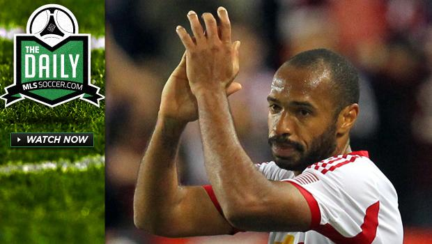 The Daily 5/9 - Henry's wonder goal, Late drama around the league, Dempsey dreams of UCL