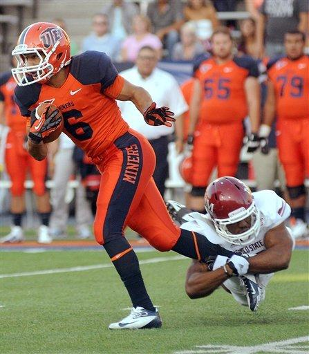 Lamaison has 4 TDs; UTEP tops New Mexico St. 41-28