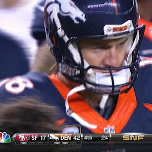 Week 7: Denver Broncos quarterback Peyton Manning highlights