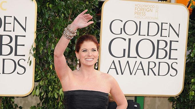 70th Annual Golden Globe Awards - Arrivals: Debra Messing
