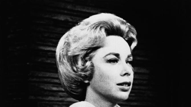 FILE - This undated file photo shows Dr.Joyce Brothers in the studio of her direct line radio show. Brothers saved a would-be suicide in 1968. The popular psychologist, columnist, and television and film personality has died in New York City on Monday, May 13, 2013. She was 85. (AP Photo, File)