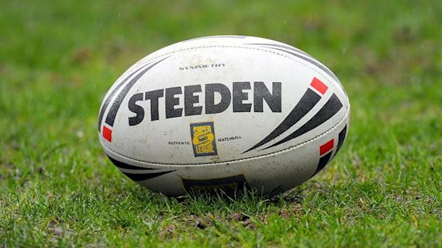Rugby league ball (PA)