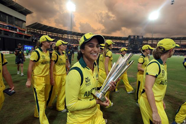 England v Australia - ICC Women's World Twenty20 2012 Final