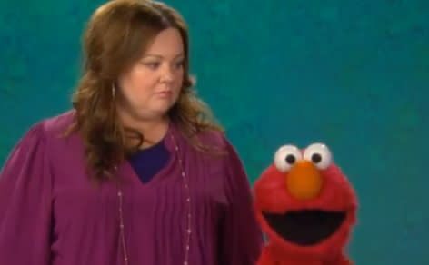 Melissa McCarthy Stops by 'Sesame Street' to Learn About Choreography (Video)