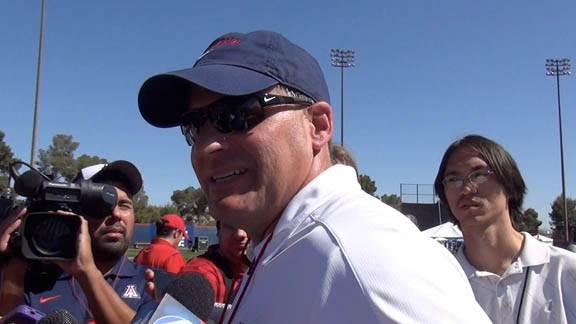 Rich Rodriguez - April 13