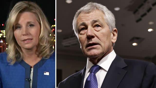 Liz Cheney slams Hagel's 'embarrassing' hearing performance