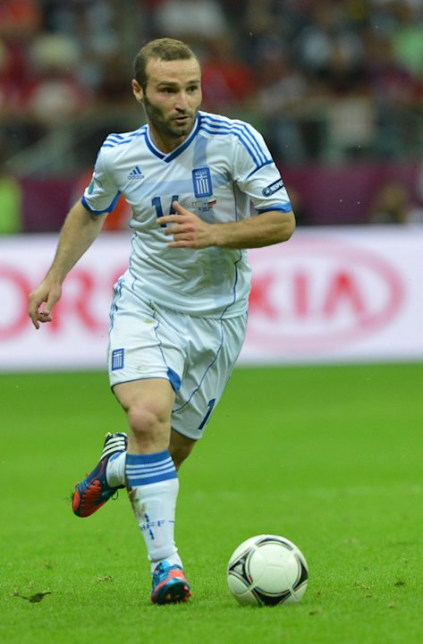 Greek Forward Dimitris Salpingidis …