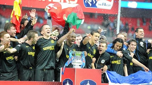 Wigan are the FA Cup holders
