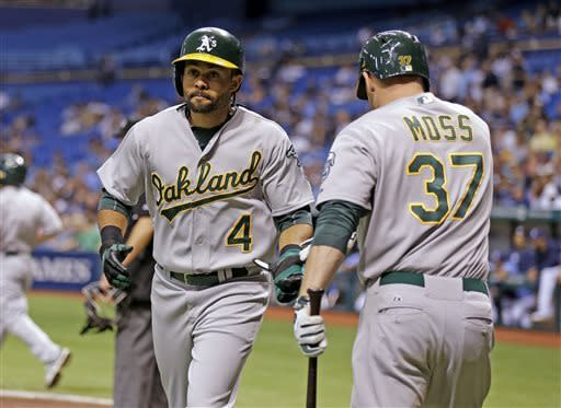 Longoria, Zobrist lead Rays past Athletics