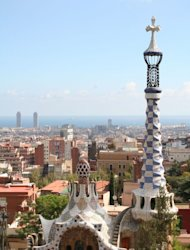 Park of Gaudi, Barcelona, Spain