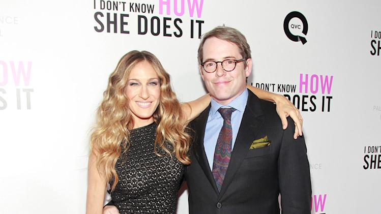 I Don't Know How She Does It NY Premiere 2011 Sarah Jessica Parker Matthew Broderick