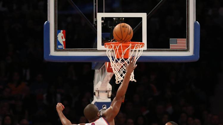 NBA: Toronto Raptors at New York Knicks