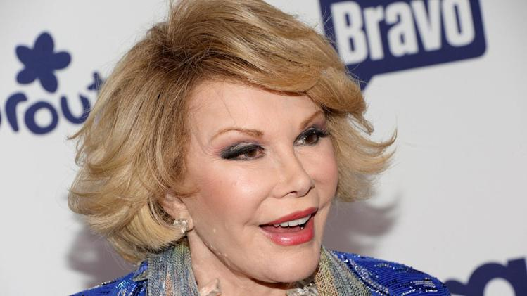 Officials: Joan Rivers rushed to hospital