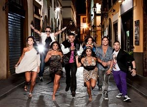The &quot;Shore&quot; kids ran wild in Italy last night (MTV)