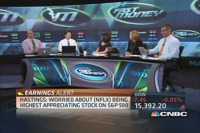 Hastings worried stock's gains are overheated