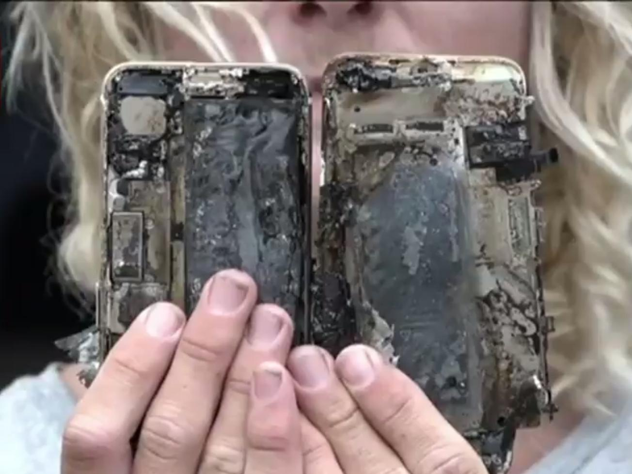 Apple is investigating the iPhone 7 that reportedly caught on fire