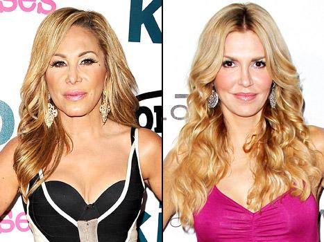 Adrienne Maloof Ignores Brandi Glanville Hours After Quitting The Real Housewives of Beverly Hills