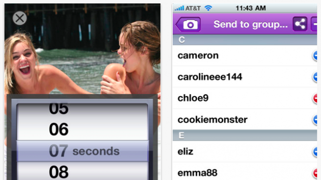 New iPhone app enables self-destructing sext messages