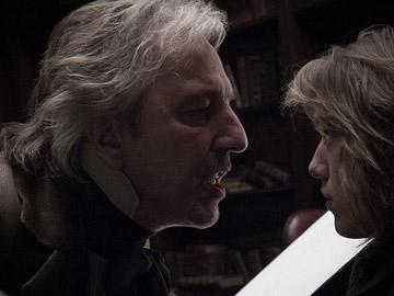 Alan Rickman in DreamWorks Pictures' Sweeney Todd: The Demon Barber of Fleet Street