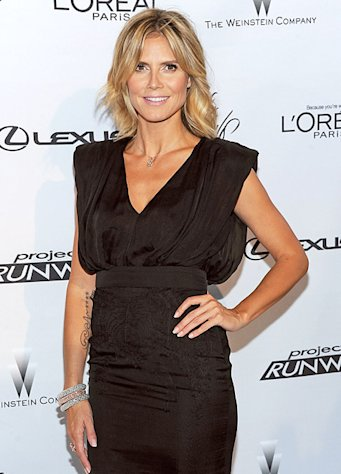 "Heidi Klum: ""I watched The Bodyguard after I started dating Martin Kirsten"""