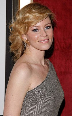 Elizabeth Banks at the New York City premiere of Universal Pictures' Definitely, Maybe