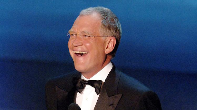 David Letterman at The 57th Annual Emmy Awards. September 18, 2005