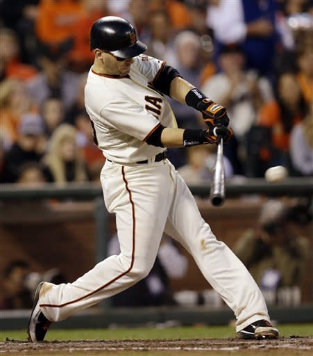 Giants beat Cardinals 7-1 in Game 2 to even NLCS