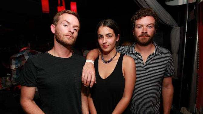 IMAGE DISTRIBUTED FOR PARK CITY LIVE - Christopher Masterson, Alanna Masterson, and Danny Masterson are seen at the Sound City Players at Park City Live Day 2 on Friday, January 18, 2013, in Park City, Utah. (Photo by Barry Brecheisen/Invision for Park City Live/AP Images)