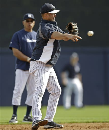 Jeter 0 for 2 in Yankees' 4-0 win over Cardinals