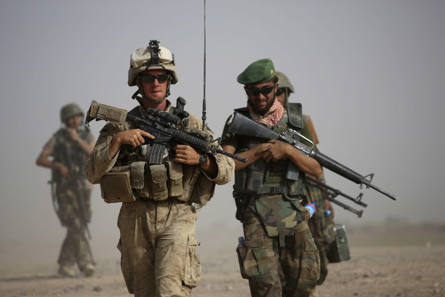 Afghan Forces Also Suffer From insider Attacks