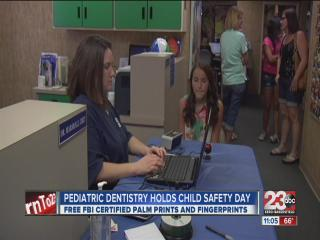 Pediatric Dentistry holds child safety day