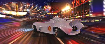 The Mach 5 in Warner Bros. Pictures' Speed Racer