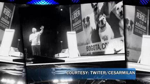 Cesar Millan Honored in Colombia