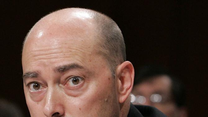 FILE - This Sept. 19, 2006 file photo shows Navy Vice Admiral James Stavridis testifying on Capitol Hill in Washington. When Defense Secretary Leon Panetta pointedly warned young troops last spring to mind their ways, he may have been lecturing the wrong audience. The culture of military misconduct starts at the top. At least five current and former U.S. general officers have been reprimanded or investigated for possible misconduct in the past two weeks _ a startling run of embarrassment for a military whose stock among Americans rose so high during a decade of war that its leaders seemed almost untouchable. (AP Photo/Charles Dharapak, File)