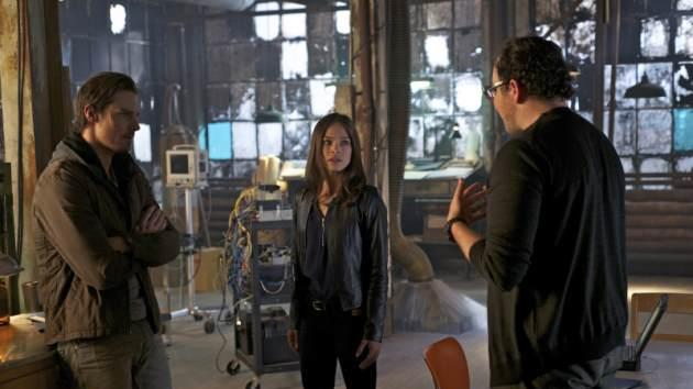Jay Ryan as Vincent, Kristin Kreuk as Catherine and Austin Basis as JT on The CW's 'Beauty and The Beast' -- The CW