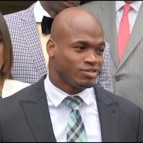 NFL: Adrian Peterson Suspended Without Pay For Remainder Of Season