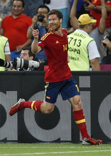 Spain beats France 2-0 to reach semifinals