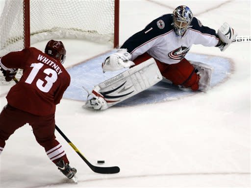 Nash leads Blue Jackets to 5-2 win over Coyotes