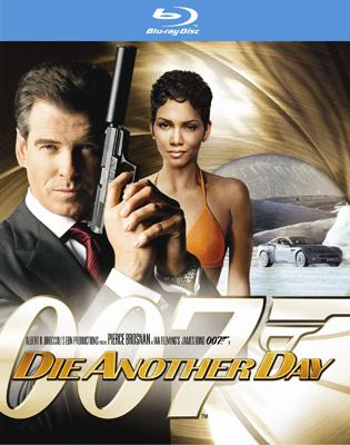 Blu-ray box art for Fox Home Entertainment's Die Another Day
