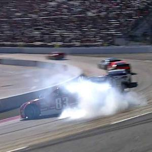 Labonte spins Reutimann in front of leaders