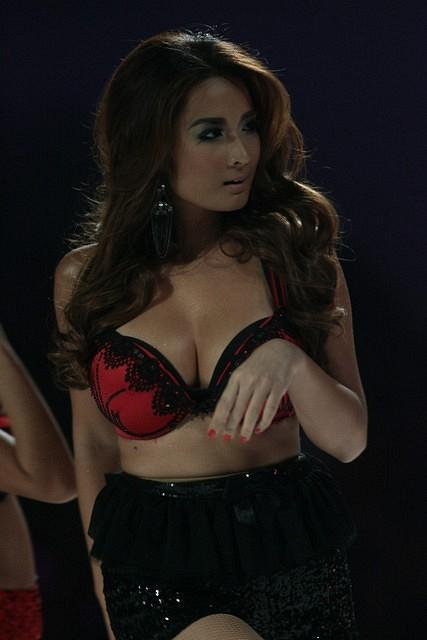 Ehra Madrigal during the FHM Philippines 100 Sexiest Women in the World 2012 Victory Party at the World Trade Center on Thursday, July 12.