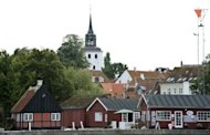 Downtown Aeroeskoebing, on the small Danish island of Aeroe. Danish authorities waive the German requirement of a document from the home country stating a person is not already married and which is subject to court review -- usually the biggest obstacle for binational couples