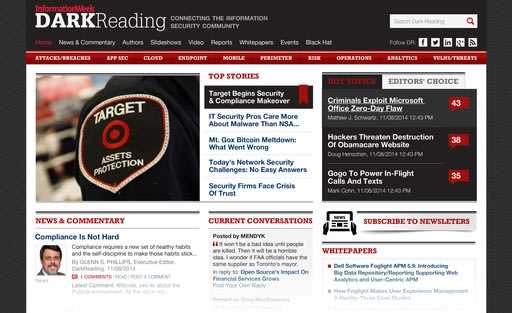 The New Dark Reading Information Security Site