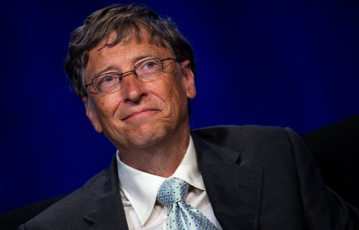 <p>Microsoft co-founder turned global philanthropist Bill Gates, pictured in July 2012, on Tuesday launched a search for a new toilet better suited to developing countries.</p>