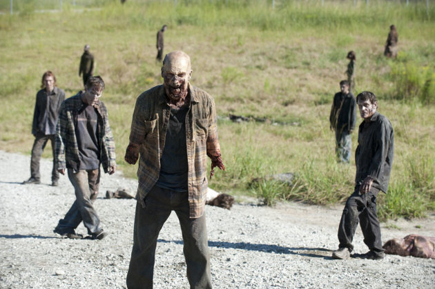"Walkers in ""The Walking Dead"" episode, ""I Ain't a Judas."""