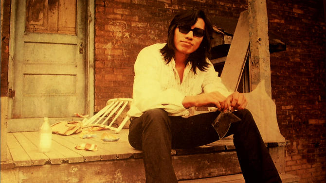 """FILE - This undated publicity photo released by courtesy Sony Pictures Classics shows Rodriguez in a scene from the documentary film, """"Searching for Sugar Man."""" (AP Photo/Courtesy Sony Pictures Classics, Hal Wilson, File)"""