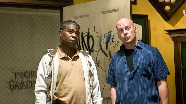 Cop Out Warner Bros Pictures 2010 Production Photos Tracy Morgan Bruce Willis