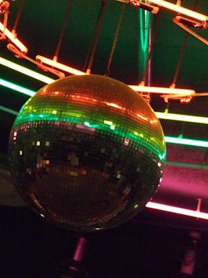 "a mirror ball trophy is given out on ""Dancing with the Stars"""
