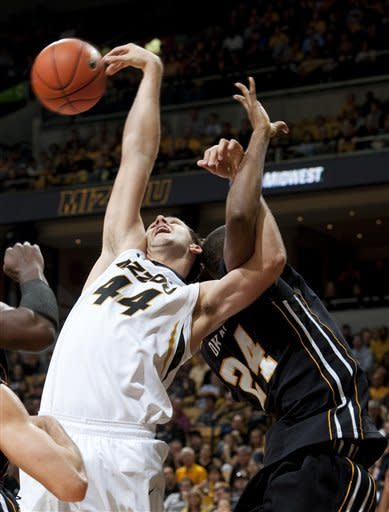 No. 16 Missouri tops Appalachian State 72-56